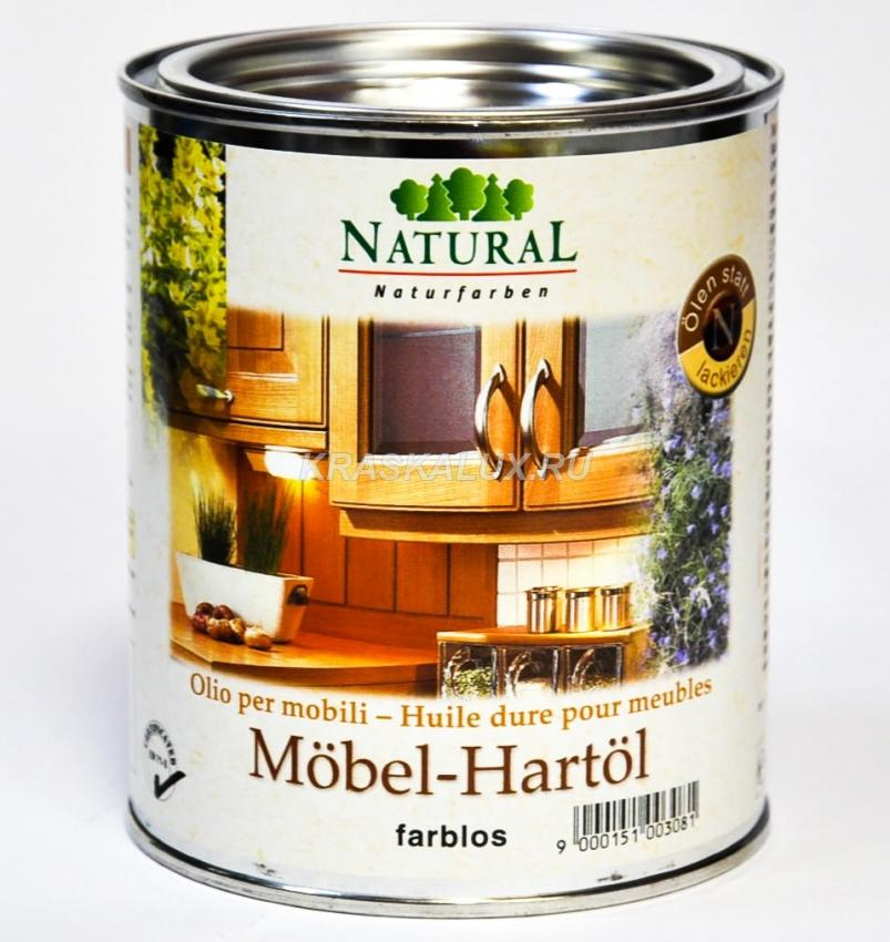 Масло для мебели Natural Mobel-Hartol