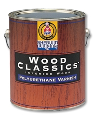 Износостойкий лак Wood Classics Polyurethane Varnish