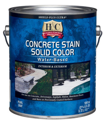 Лак для камня H&C Concrete Stain Solid Color WB