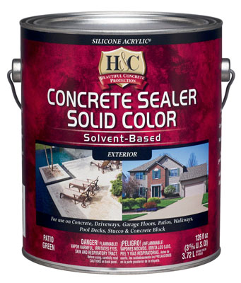 Лак для камня H&C Concrete Sealer Solvent Based