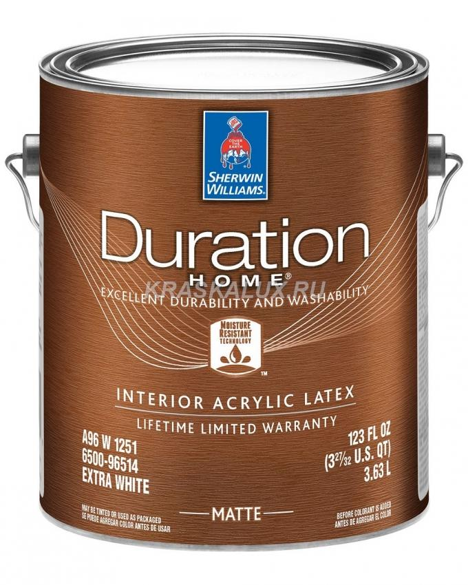 Duration Home Interior Latex Matte краска для стен