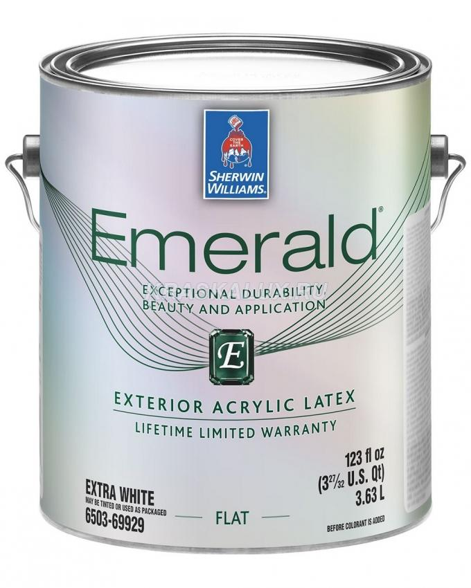 Emerald Exterior Acrylic Latex Paint