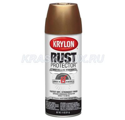 Krylon Rust Protector Metallic Finish Эмаль металлик