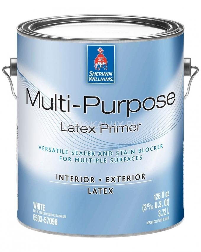 Multi-Purpose Interior/Exterior Latex Primer/Sealer