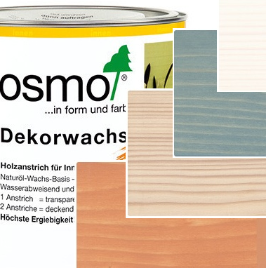 OSMO Dekorwachs Ol Transparent color